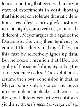 histone excerpt... click for Bob's full review of Darwin's Doubt in the CRSQ