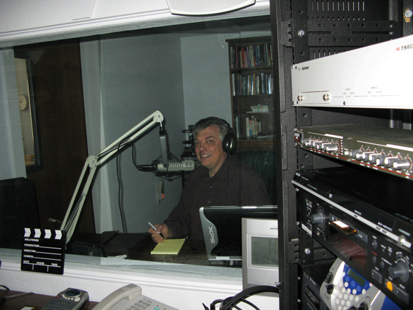 Bob in the new Studio