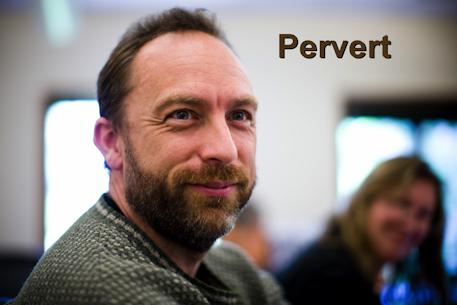 Porn trafficker Wikipedia founder Jimmy Wales