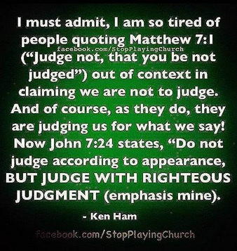 Should Christians Judg...
