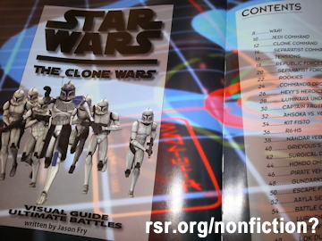 Libraries putting Star Wars in nonfiction section.