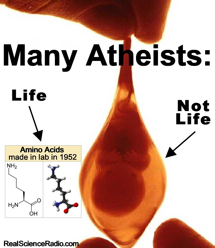 Many Atheists: Life, Not Life