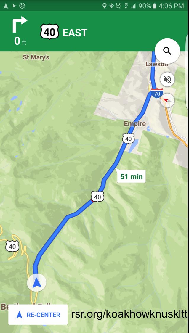 KLTT Reception Test vs. KOA/KNUS/KLTT in Berthoud, Colorado