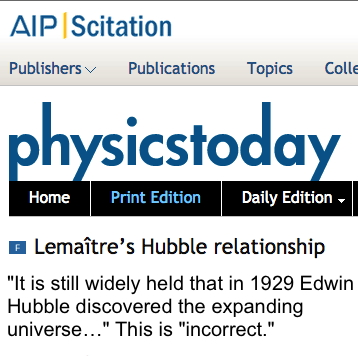 Expansion of the universe claims pre-dated Hubble