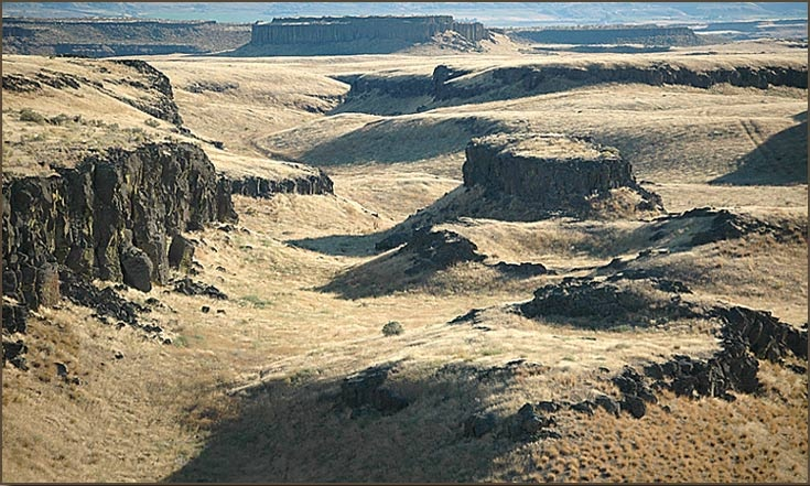 Scablands formed rapidly; case study reveals bias...