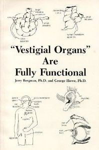 Dr. Bergman's great book exposing the vestigial organ farce