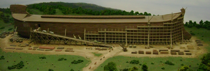 Architects painting of the Ark Encounter...