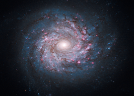 This galaxy is a stock image