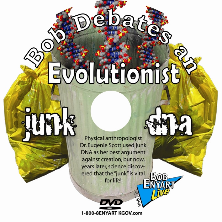 Junk DNA featured in Bob's 1998 Debate with Eugenie Scott, Ph.D.