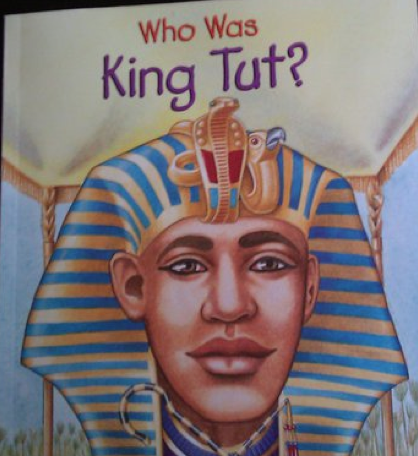 National Geographic's King Tut book cover art looks like Barack Obama.